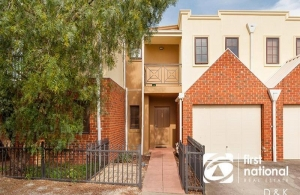 A 3 bed 2 bath townhouse in Footscray sub $500k