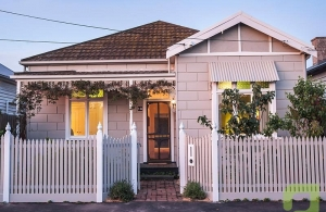 Stunning north facing double front in Yarraville